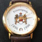 Die Uhr zum 100-jährigen Bestehen der Prinzengarde.
