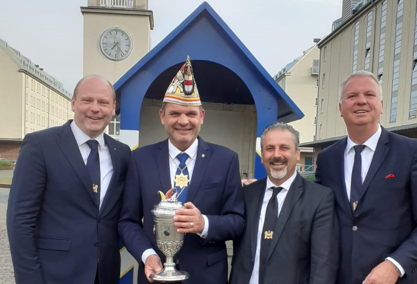 Prinzengarde wählt den Prinz Karneval der Stadt Münster.